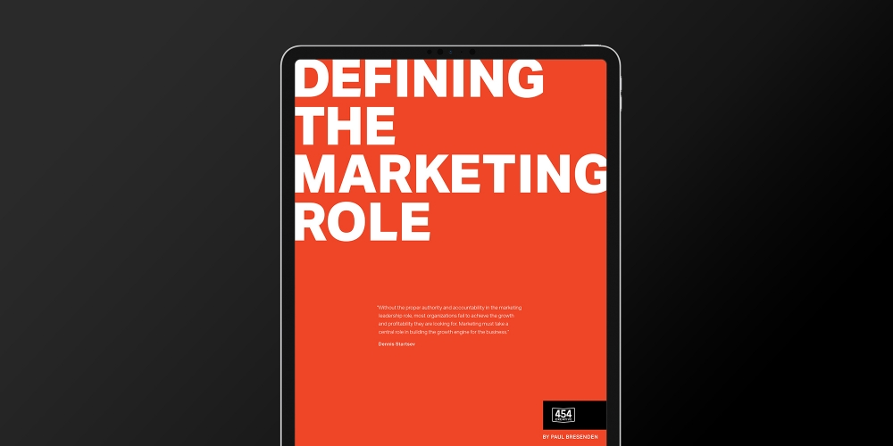 Defining the Marketing Role